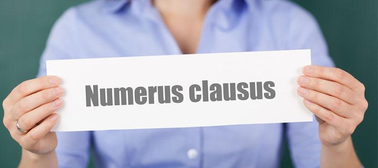 Numerus clausus for Rechtswissenschaften nc